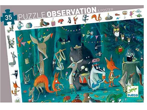 """Observation Puzzle """"The Orchestra"""" 35 pc"""