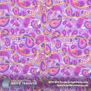 WTP-892 Purple Pink Paisley
