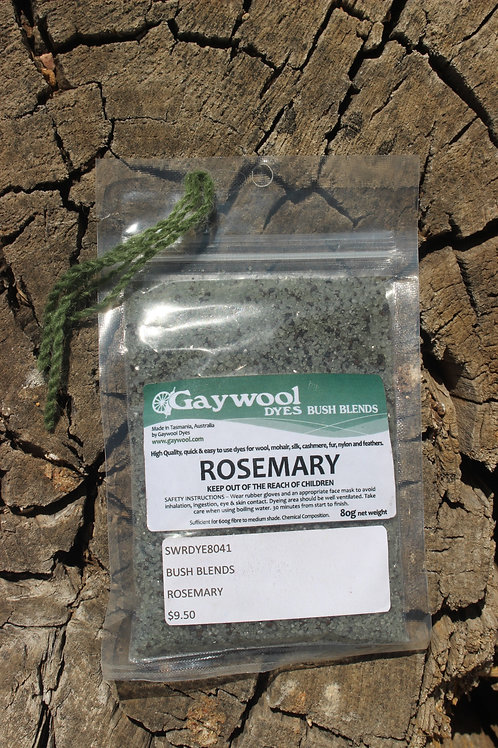 Gaywool Dyes Bush Blends - Rosemary