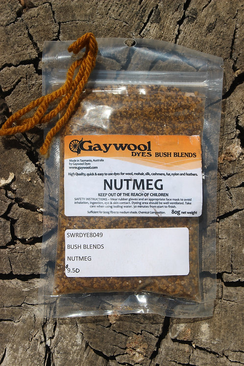 Gaywool Dyes Bush Blends - Nutmeg