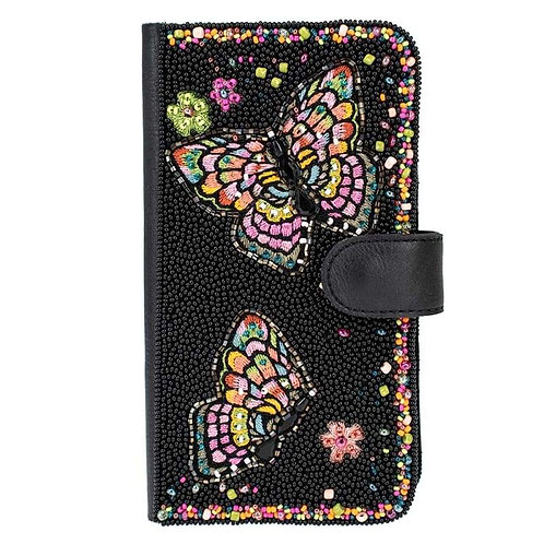 Butterfly Kiss Beaded Phone Case