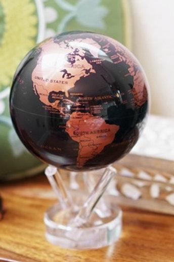 Copper and Black Earth MOVA Globe