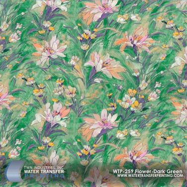 WTP-259 Flower Dark Green