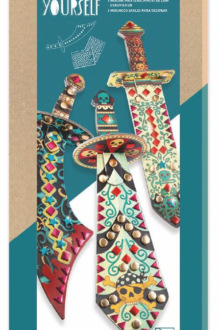 Kids Craft - Sabers To Decorate (Sabres Mosaiques A Decoret)