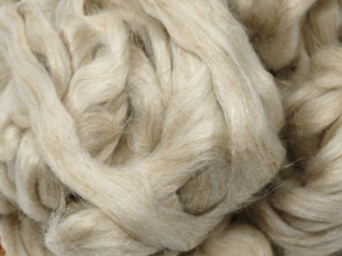 Wool/Flax Blend - Natural