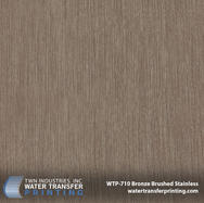 WTP-710 Bronze Brushed Stainless