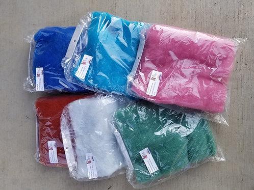 "Alpaca Batting - ""Limited Edition Colors""  9""x 9"""