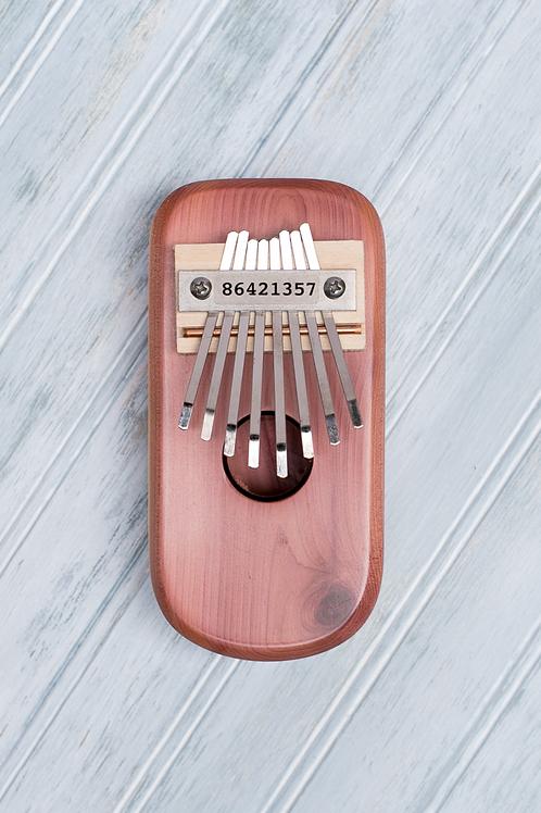 Cedar Box Thumb Piano