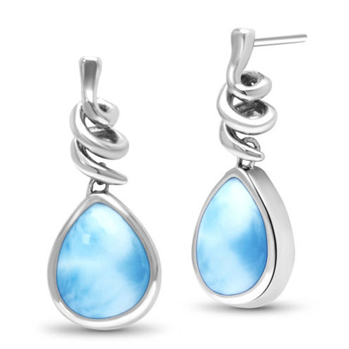 Muse Larimar Earrings