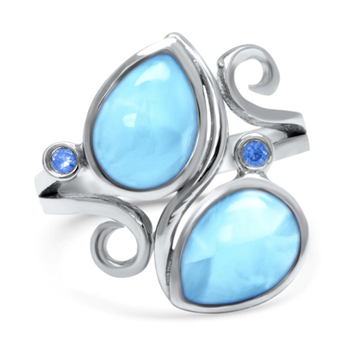 Lyric Larimar Ring