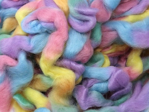Northern Lights Wool Top - Cotton Candy