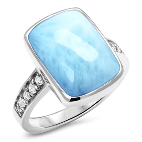 Maris Larimar Ring