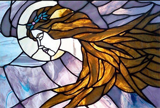 Origial Art, Origial Art, Stained Glass, AEI Studio, Pamela Tallon