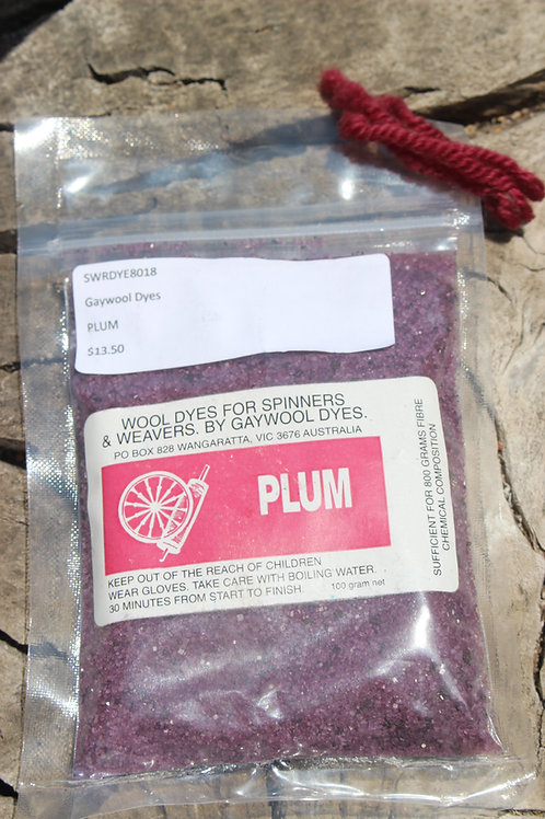 Gaywool Dyes Originals - Plum