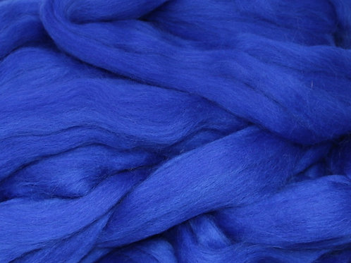 Dyed Corriedale - Bright  Blue
