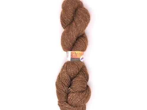 Alpaca Tussah Silk Blend 2-Ply Sport - Brown Tweed