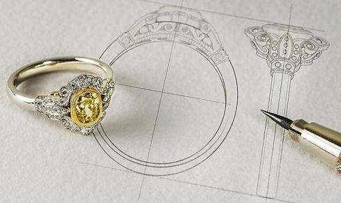 custom jewelry design - weiss jewelry
