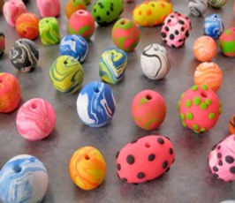 Sculpt Clay Jewelry class for Kids
