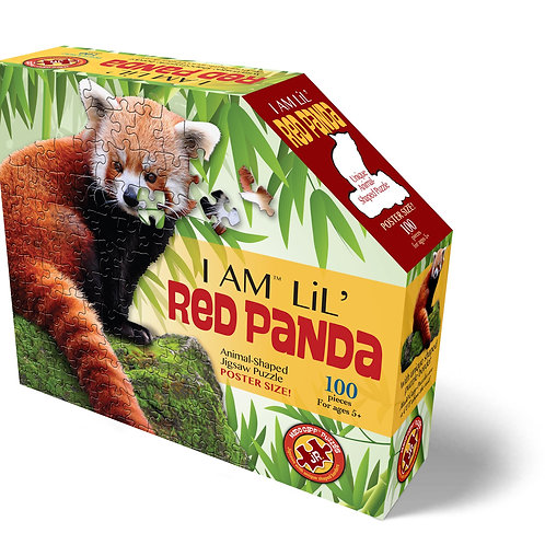 Jigsaw Puzzle - I Am Lil' Red Panda - 100 Pieces