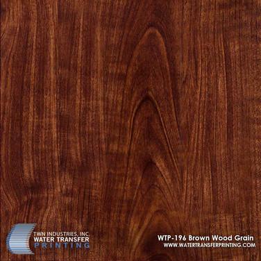 WTP-196 Brown Wood Grain