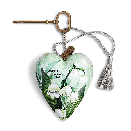 Art Heart - May, Lily of the Valley Birth Flower