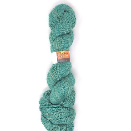 Suri  2-Ply Sport - Fawn/Sea Green