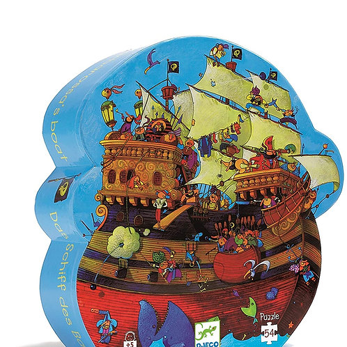 Jigsaw Puzzle - DJECO Barbarossa's Boat - 54 Pieces
