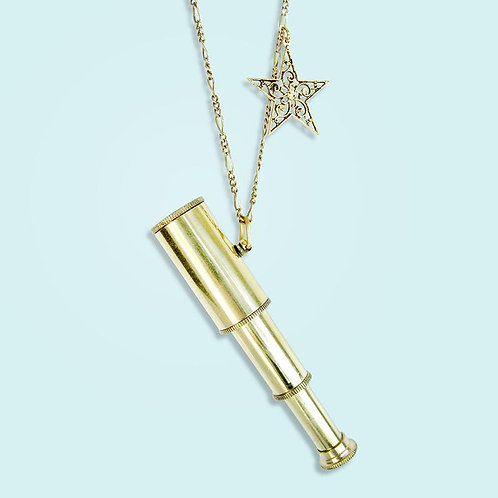 Telescope Necklace - Ornamental Things