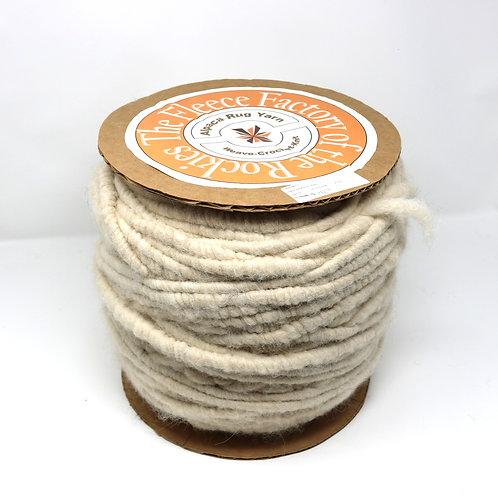 Alpaca Rug Yarn - White