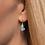 Thumbnail: Floating Heart Earrings
