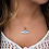 Thumbnail: Whale Tail Larimar Necklace