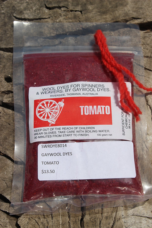 Gaywool Dyes Originals - Tomato