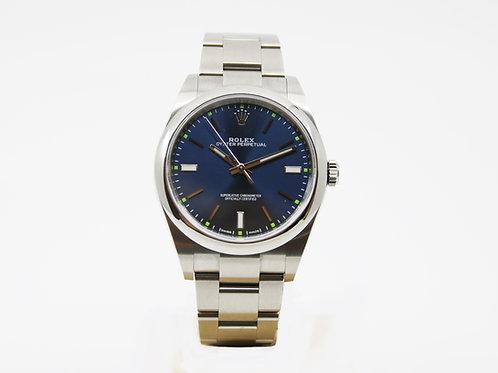 Rolex Oyster Perpetual Steel Mens Watch - Model 114300