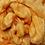Thumbnail: Dyed Merino Silk Top - Golden Hibiscus