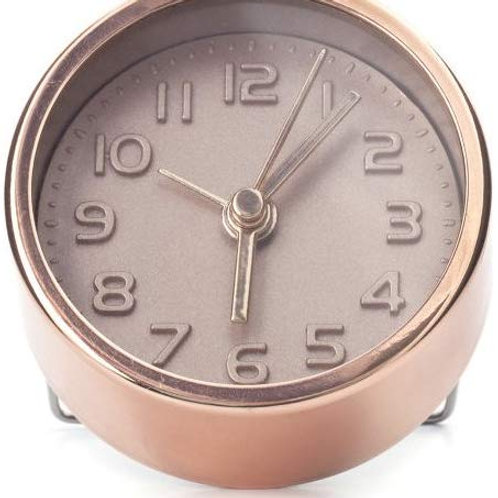 Mini Copper Alarm Clock