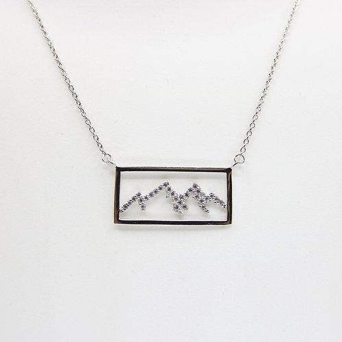 Mountain Silhouette Pendant