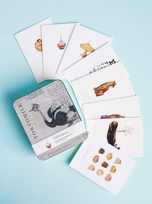 "Greeting Cards - Tokyomilk ""Birthday Card Set Volume 02"""
