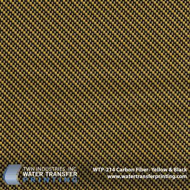 WTP-214 Carbon Fiber Yellow & Black