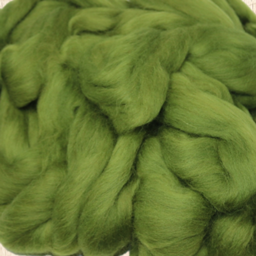 Dyed Corriedale - Olive Green