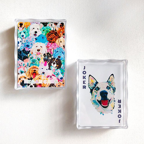 Dog Deck - 54 Hand-painted Standard Playing Cards