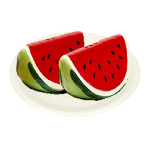 Ceramic Watermelon Salt & Pepper Shakers