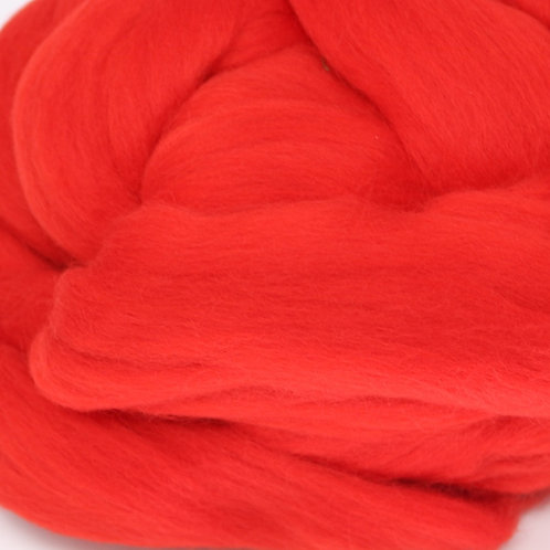 Dyed Corriedale - Red