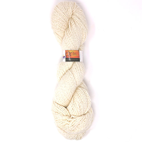 Alpaca 2-Ply Worsted  - White