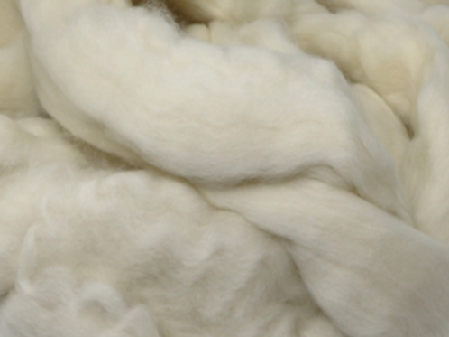 South African Fine Wool Top - Natural