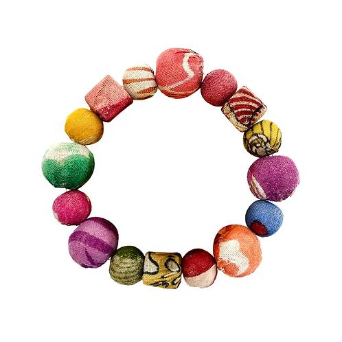 Kantha Primary Shapes Bracelet