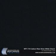 WTP-174 Carbon Fiber Silver White Check