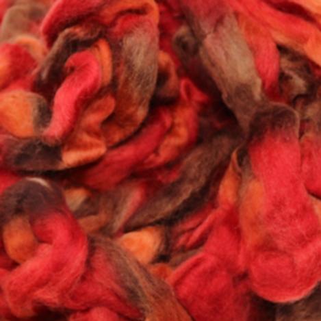 Northern Lights Wool Top - Burning Bush