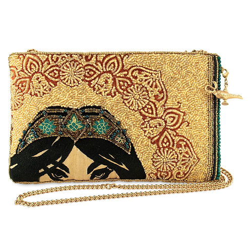 Mary Frances Disney Desert Princes Beaded Crossbody Clutch