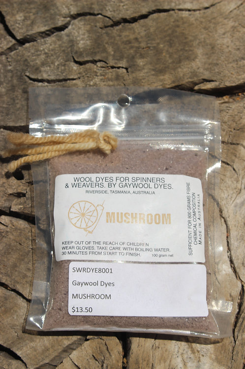 Gaywool Dyes Originals - Mushroom