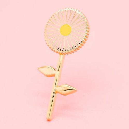 Spinning Daisy Pin